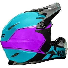Kali Zoka - Casco de bicicleta Hombre - violeta/azul